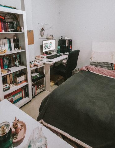 Grandes mudanças começam pela organização do quarto.