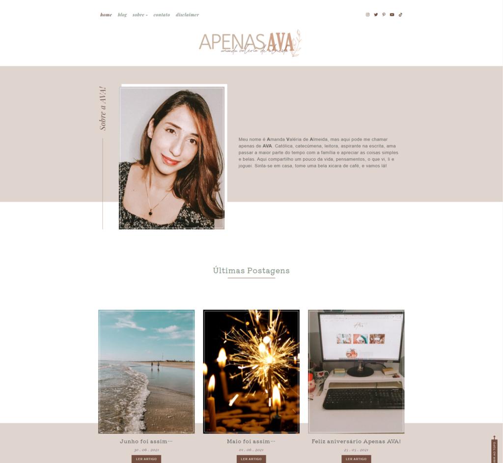 Template Aurora – AFC Web Design
